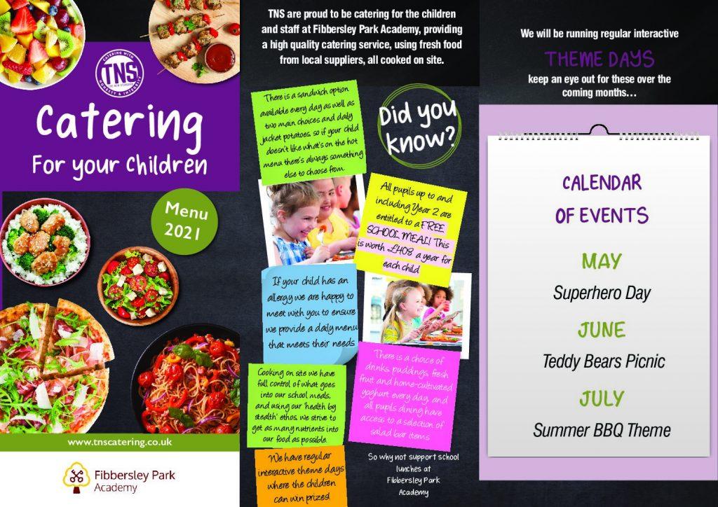 Fibbersley Park Academy Food Menu